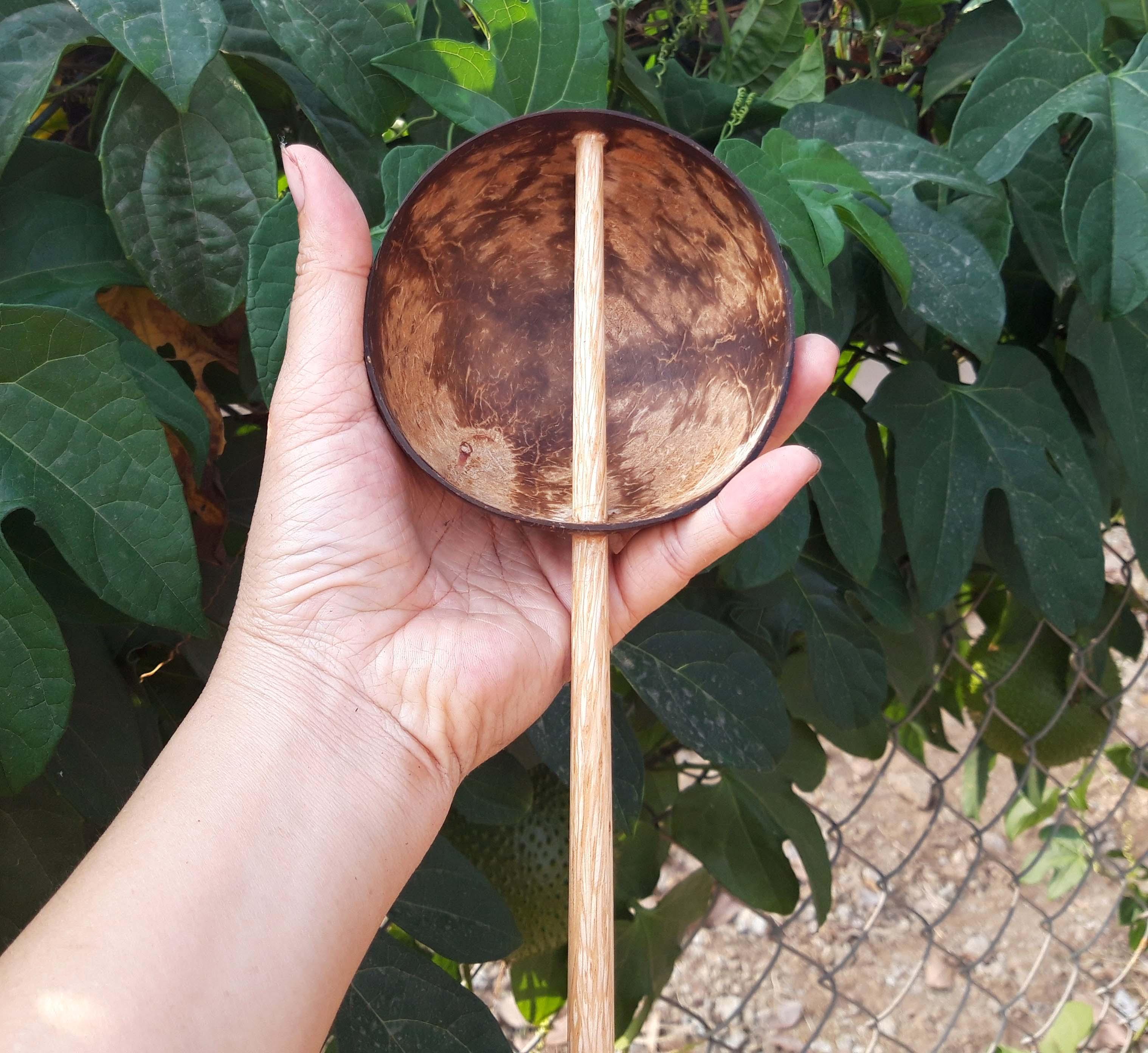 Gáo dừa múc bột tráng bánh cuốn gáo dừa YESCOCO XƯỞNG SX