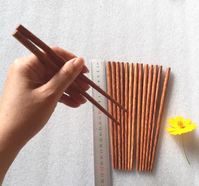 Đũa gỗ Dừa 20cm - Bộ 10 đôi