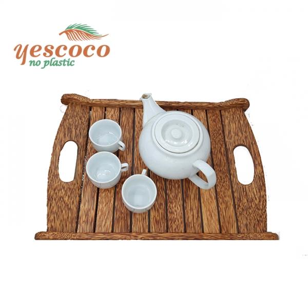 Khay trà gỗ dừa