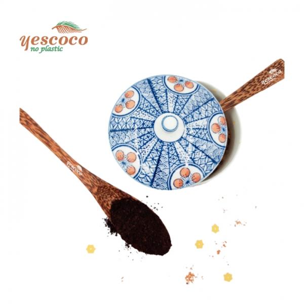 Thìa xúc trà cà phê gỗ