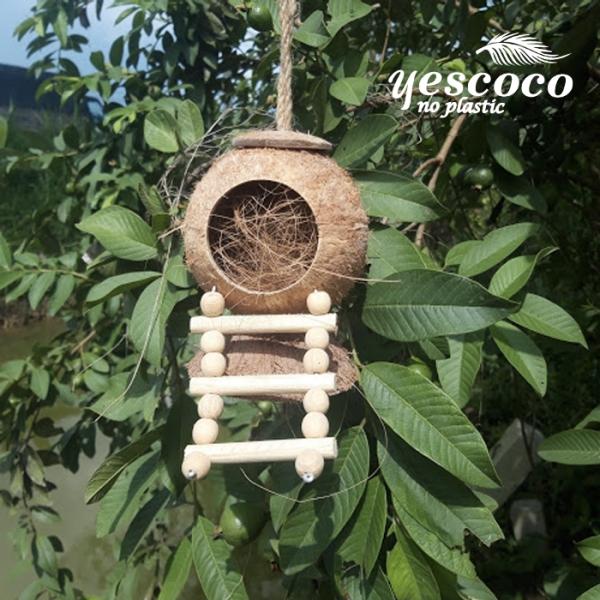Tổtreo 3 thang hạt gỗ